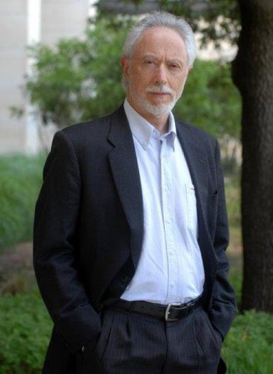 A portrait of J. M. Coetzee taken during his visit to The University of Texas at Austin in May 2010. Photo by Marsha Miller.