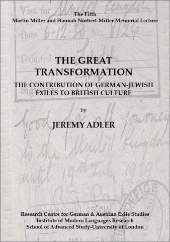 The Great Transformation: The Contribution of German